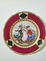 Antique Royal Vienna Beehive mark  Porcelain Plate  9.25""