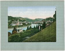 Salzburg von Mülln, Orig.-Photochrom, Nenke & Ostermaier um 1900