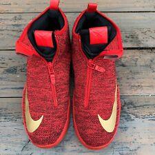 Nike Zoom Kobe Icon China Red Mens Size 12 Bryant 818583-600