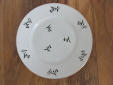 Rosenthal Selb Bavaria-Scattered Gray/Black Tulips-Salad Plate(s)-Up to 8 Avail