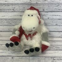vintage woolworths Christmas Wooly Plush Soft Toy