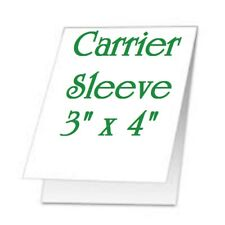 2 pack Carrier Sleeves For Laminating Laminator Pouches 3-1/4 x 4-1/2