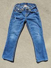 True Religion denim jeans youth girls size 12 EUC