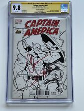 CGC 9.8 Captain America #695 Variant Edition Signed by Chris Evans & Tom Holland