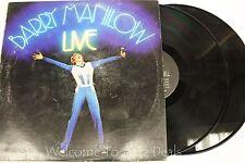 "Barry manilow - Live (1977) LP 12"" (VG)"