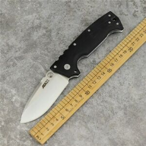 "COLD STEEL AD-10 FOLDER TACTICAL KNIFE S35VN STEEL 5 1/4"" Long G-10 HANDLE 28DD"