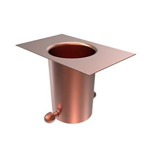 Rain Chain Copper Gutter Installer