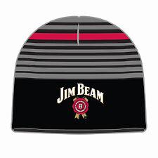 JIM BEAM BOURBON Logo Beanie Men's Man Cave Birthday Fathers Day Gift (JB04002)
