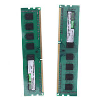 2X(Uroad DDR3 DDR3I 1600Mhz RAM Desktop Memory DIMM Only For AMD Computer P M2I6
