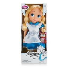 Nuevo Oficial Disney Alice Wonderland 41cm ANIMATOR NIÑO PEQUEÑO MUÑECA In