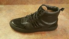 Bally 'Hervey' Black Leather High Top Sneakers Men's Size 11.5 D MSRP $595