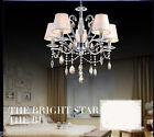 Modern Simple Style 6 Lights D 62*H58 CM Living Room Crystal Chandelier Lighting