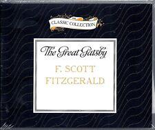 The Great Gatsby by F. Scott Fitzgerald (2013, CD, Unabridged, 4 Disc)