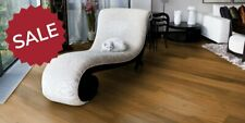 £29.25 14x189mm Lightly Brushed Golden Amber Engineered Oak Wood Flooring