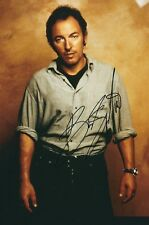 BRUCE SPRINGSTEEN SIGNED 12x8 PHOTO - UACC & AFTAL RD AUTOGRAPH