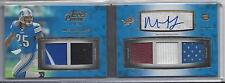 MIKEL LESHOURE 2011 TOPPS PRIME LEVEL II (2) 5 PIECE PATCH AUTO BOOK RC #D 3/15