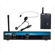 Gemini UHF 116hl Wireless Headset/lavalier Combo Beltpack 16 Channel