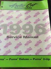 1996 Arctic Cat Puma, Puma Deluxe, Puma 2 up Service Manual PN:2255-298