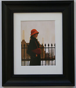Just Another Day by Jack Vettriano Framed & Mounted Art Print Black Frame