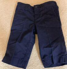 Dickies Girls Uniform Navy Bermuda Shorts Size 6X EUC