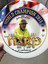 Westside Discs Deco Dye Harp Golf Disc Le John E McCray World Champ