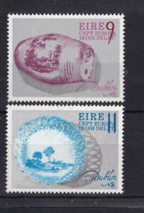 EUROPA MNH STAMP SET 1976 IRELAND CRAFTS SG 396-397