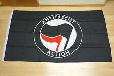 Fahnen Flagge Antifaschistische Aktion - 90 x 150 cm