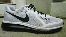 Nike Mens Air Max 2014 621077-100 White Volt Running Shoes Lace Up Size 9.5