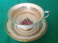 PARAGON BY APPOINTMENT TO HER MAJESTY QUEEN ELIZABETH CUP & SAUCER SMALL SIZE
