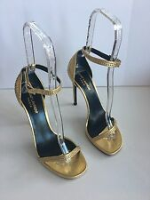 "NEW YSL Yves Saint Laurent Jane Crystal ""Nordstrom Exclusive"" Sandal Sz 39.5 9.5"