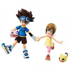 NEW Digimon Adventure G.E.M. Series TAICHI & HIKARI & Koromon & Nyaromon Figure