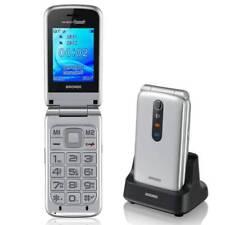 Brondi Amico Grande Telefono Cellulare Argento (g1c)