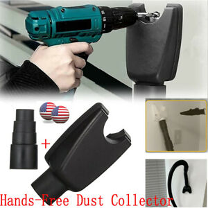 Hands-Free Dust Collector Dustproof Device Power Tool-Vacuum Hose Adapter Kit US