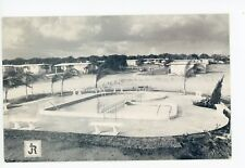 Orange Lake Village—St. Petersburg FL Lake Seminole Vintage PC ca. 1940s