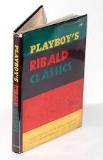 "Playboy Hardcover (1957) W/Demco Covered Dust Jacket ""Ribald Classics"" (Fine -)"