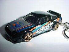 NEW 3D BLACK NISSAN 240SX CUSTOM KEYCHAIN keyring key RACER 180X 180SX silvia