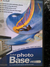 photo base deluxe DVD works with photos, video, music and more!