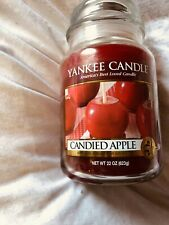 Yankee Candle Candied Apple Vhtf Rare Large