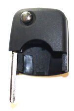 New Replacement Transponder Chip Car Remote Head Flip Key Uncut Blade Round Fob