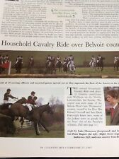 M51-3 Ephemera 1997 Article The Household Cavalry Waltham On The Wolds 2 Pages
