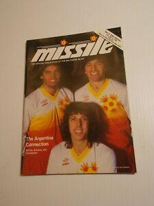1986 BALTIMORE BLAST GAME PROGRAM MISSLE MISL SOCCER Argentine Connection