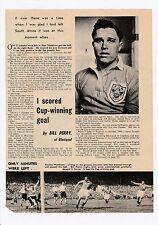Bill Perry Blackpool 1949-1962 rare original hand signed magazine Cutting