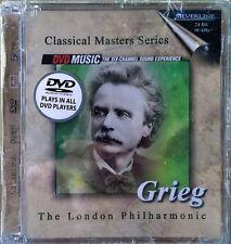 GRIEG - LONDON PHILHARMONIC - DVD AUDIO/VIDEO MUSIC - SILVER LINE - STILL SEALED