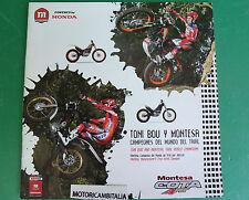 MONTESA COTA TONI BOU TRIAL  motorcycle PUBBLICITA DEPLIANT BROCHURE CATALOG