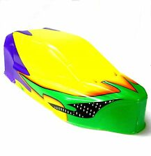 BS905-007 1/10 Scale Nitro RC Buggy Body Shell Cover Yellow Painted Narrow