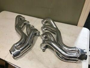 Hedman Husler LS Engine Swap Header Mid Length Chevy 58-64 Impala 45426 GM Cut