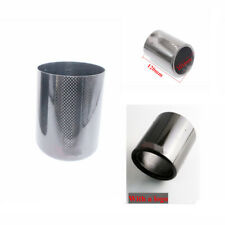 Universal Car muffler Exhaust Pipe Cover Carbon Fiber Material Outlet 101mm
