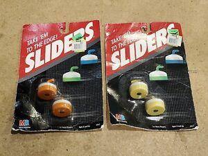 Set of 2 Brand New 1988 Milton Bradley Sliders Tabletop Curling Game Vintage