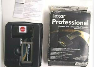 Lexar Professional Compact Flash Reader Card Adapter