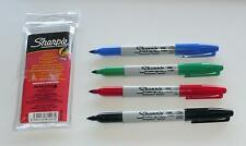 Sharpie Fine Marcatore Permanente Set. 4 colori assortiti.